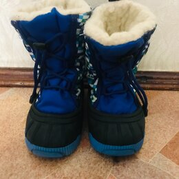 Сапоги, полусапоги - Сноубутсы для мальчика на зиму сапожки , 0