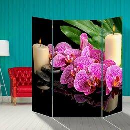 """Диваны и кушетки - Ширма """"Орхидея"""", 160 × 160 см, 0"""