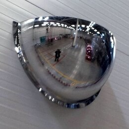 Мебель для учреждений - Зеркало купольное для помещений SIS BG ½ полусферы, 600 мм, 0