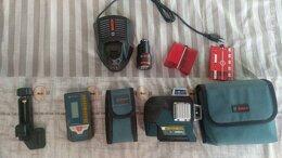 Измерительные инструменты и приборы - Bosch GLL 3-80 C и Bosch LR7, 0