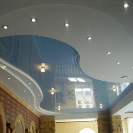 Потолки и комплектующие - Тканевый натяжной потолок, 0