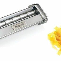 Пельменницы, машинки для пасты и равиоли - Насадка лапшерезка Marcato Lasagnette к тестораскатке Atlas 150 mm, 0