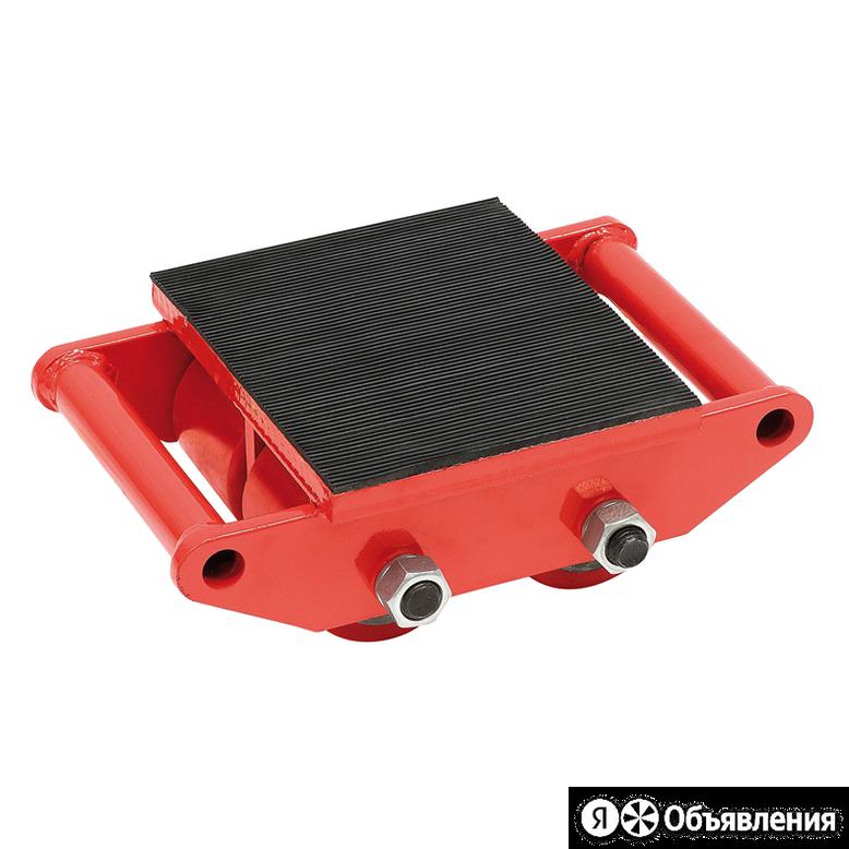 Роликовые платформы TOR Роликовая платформа подкатная CRО-4 г/п 6т по цене 4950₽ - Грузоподъемное оборудование, фото 0