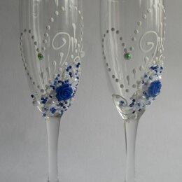 Свадебные украшения - Свадебные бокалы , 0
