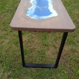 """Столы и столики - Стол лофт """"Океан""""от мастерской salomon table .Массив Дуба.3-D фрезеровка. , 0"""