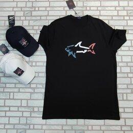 Футболки и майки - Большой размер футболка Paul shark черная, 0