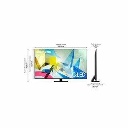 Телевизоры - Телевизор qled samsung qe65q80tau , 0