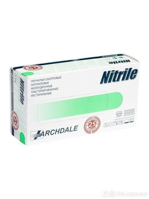 Перчатки нитриловые NitriMax неопудренные нестерильные зеленые 50 пар XL по цене 1548₽ - Перчатки, фото 0