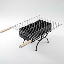 Решетки - Решетка-гриль 50*60см с деревянными ручками, 0
