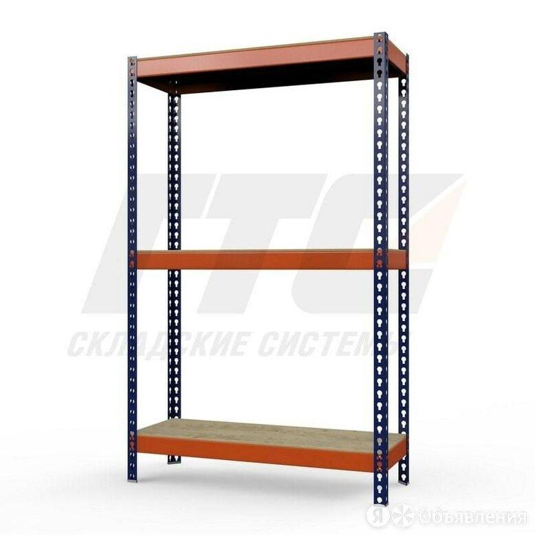 Стеллаж металлический Профи-Т 2000x1845x500 мм. Полки: фанера 3 шт. по цене 13956₽ - Мебель для учреждений, фото 0