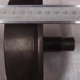 Грузоподъемное оборудование - Колесо для тельфера с валом для кранбалки, 0