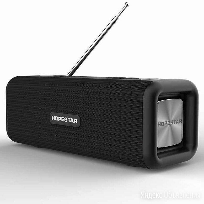 Радио портативная колонка Hopestar T9 черная  по цене 1900₽ - Портативная акустика, фото 0