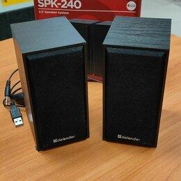 Компьютерная акустика - Колонки 2.0 Defender SPK-240, 0