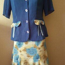 Костюмы - Летний жизнерадостный костюм 48 р-р, 0