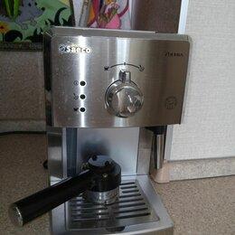 Кофеварки и кофемашины - Кофеварка рожковая saeco hd8325 poemia, 0