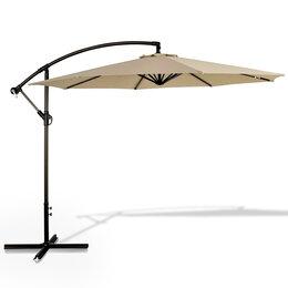 Зонты от солнца - Зонт уличный бежевый 3х3 м Banan, 0