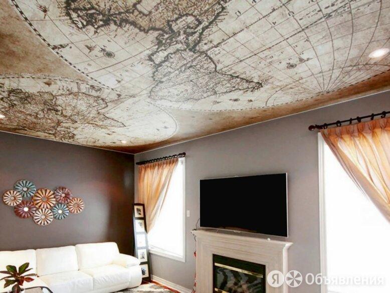 Натяжные потолки по цене 120₽ - Потолки и комплектующие, фото 0