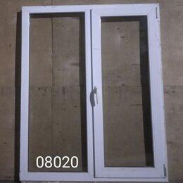 Готовые конструкции - Пластиковое окно (б/у) 1430(в)х1160(ш), 0