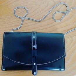 Клатчи - Женская сумочка из кожи, 0