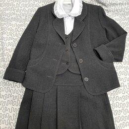 Комплекты и форма - Школьная форма р.140-146 блузки, юбки, 0