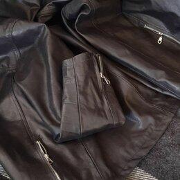 Куртки - Куртка кожаная 48-50р., 0