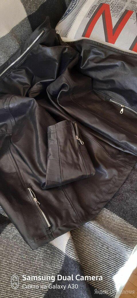 Куртка кожаная 48-50р. по цене 6800₽ - Куртки, фото 0