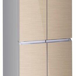 Холодильники - Холодильник ASCOLI ACDG415 золото (4-х дв., стекло), 0