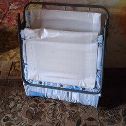 Раскладушки - Старинная раскладушка кровать до и после, 0