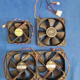 Кулеры и системы охлаждения - Корпусные вентиляторы Cooler Master,DeepCool, Addа, 0