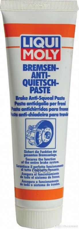 Синтетическая Смазка Для Тормозной Системы Bremsen-Anti-Quietsch-Paste 0,1л L... по цене 760₽ - Масла, технические жидкости и химия, фото 0