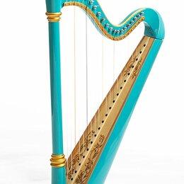 Щипковые инструменты - Resonance Harps Capris Арфа 21 струнная (A4-G1) цвет бирюзовый глянцевый, 0