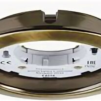 Встраиваемые светильники - Светильник точечный GX53 круг сатин/хром D90 IP20 Navigator , 0