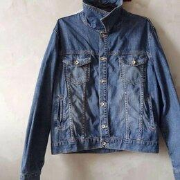 Куртки - Джинсовая куртка мужская, 0
