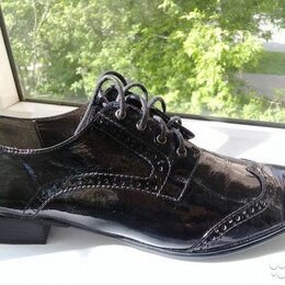 Ботинки - Женские лаковые ботинки Evita (40 размер), 0