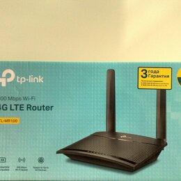 Проводные роутеры и коммутаторы - 4G LTE роутер TP-LINK TL-MR100, 0