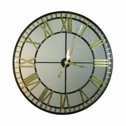 """Часы настенные - Большие настенные часы-зеркало """"Вестминстер"""", 0"""