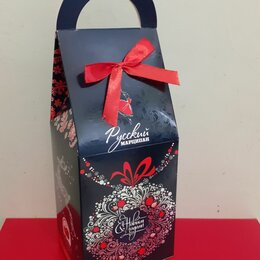 """Подарочная упаковка - Коробка подарочная """"С Новым Годом"""".27,5 см., 0"""