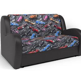Диваны и кушетки - Диван кровать Шарм-Дизайн Барон машинки турбо и экокожа шоколад, 0