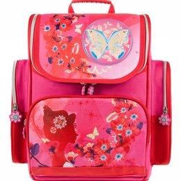 Рюкзаки, ранцы, сумки - Alliance Ранец для девочки ALLIANCE БАБОЧКА И ЦВЕТЫ 27*36,5*12см, 0