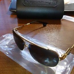 Очки и аксессуары - Chrome Hearts Люксовые солнечные очки авиаторы, 0