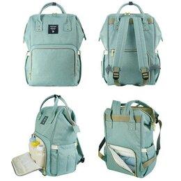 Рюкзаки и сумки-кенгуру - Сумка-рюкзак для мамы Baby Mo, зеленый, 0