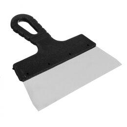 Шпатели - Шпатель металл (нерж.)., пластиковая ручка  200 мм HEADMAN..., 0
