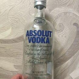 Бутылки - Бутылка из-под премиум водки Абсолют, 0