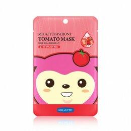 Маски - Маска на тканевой основе для лица томатная Milatte Fashiony Tomato Mask Shee..., 0