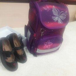 Балетки, туфли - Туфли школьные для девочки  новые BETSY и рюкзак для девочки, 0