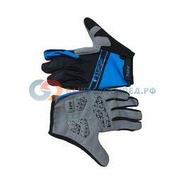 Прочие аксессуары и запчасти - Велоперчатки FUZZ RACE LIGHT, длинные пальцы, черно-синий  (Размер: M), 0