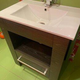 Тумбы - Продам тумбу с раковиной и доводчиком для ванной, 0