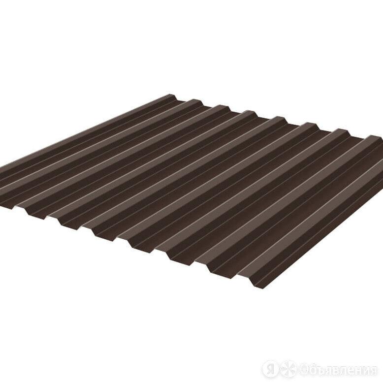 Профнастил НС-20 (МП 20) RAL8017 Шоколад 1150(1100)мм 0,50мм ГОСТ по цене 696₽ - Кровля и водосток, фото 0