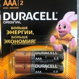 Батарейки - Батарейка Duracell AAA LR03 MN2400 1.5V, 0