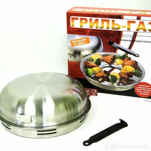 Сковорода гриль-газ D-504 нерж. сталь по цене 2140₽ - Мебель для кухни, фото 0